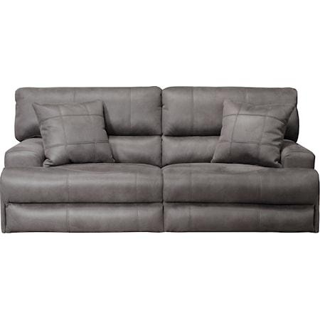 Lay-Flat Reclining Sofa