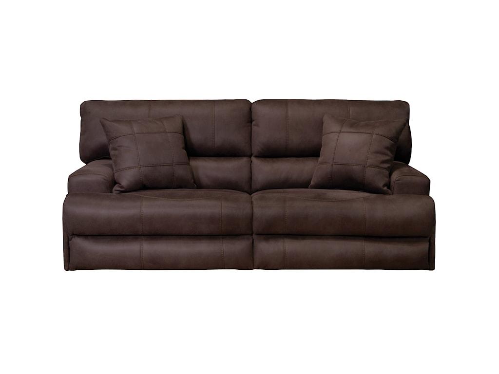 Catnapper MonacoPower Headrest Reclining Sofa