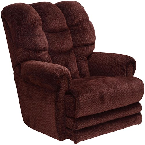 Catnapper Motion Chairs and Recliners Malone Lay Flat Recliner