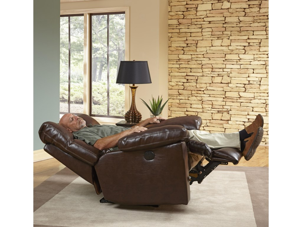 Catnapper Motion Chairs and ReclinersGriffey Power Lay Flat Recliner