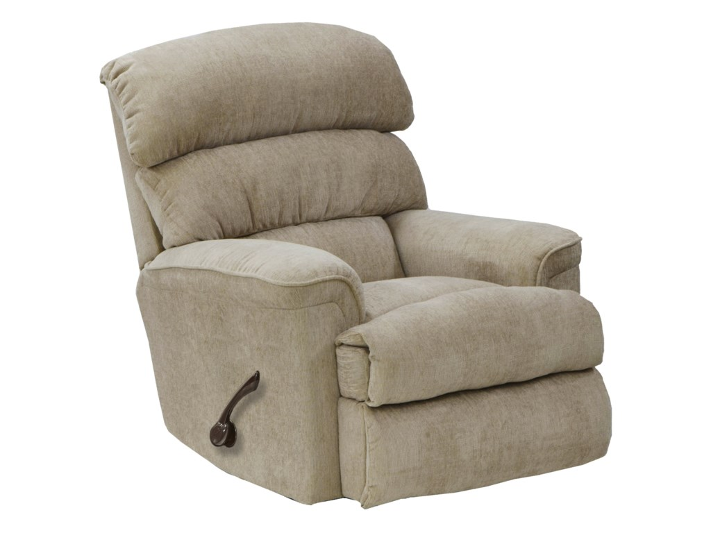 Catnapper Motion Chairs and ReclinersPearson Linen Rocker Recliner with Manual