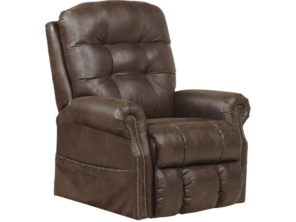 with trim white nailhead the chatham recliners lift quot com recliner amazon dp therapedic included chair stunning