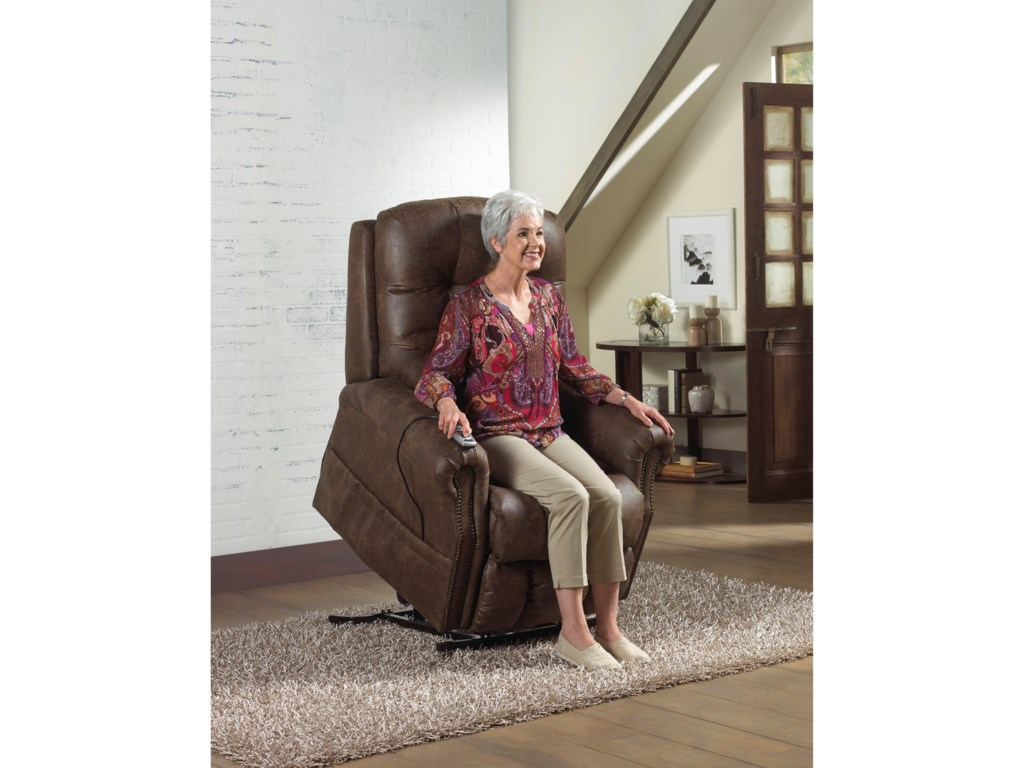 Catnapper Motion Chairs and ReclinersRamsey Lift Chair with Heat and Massage