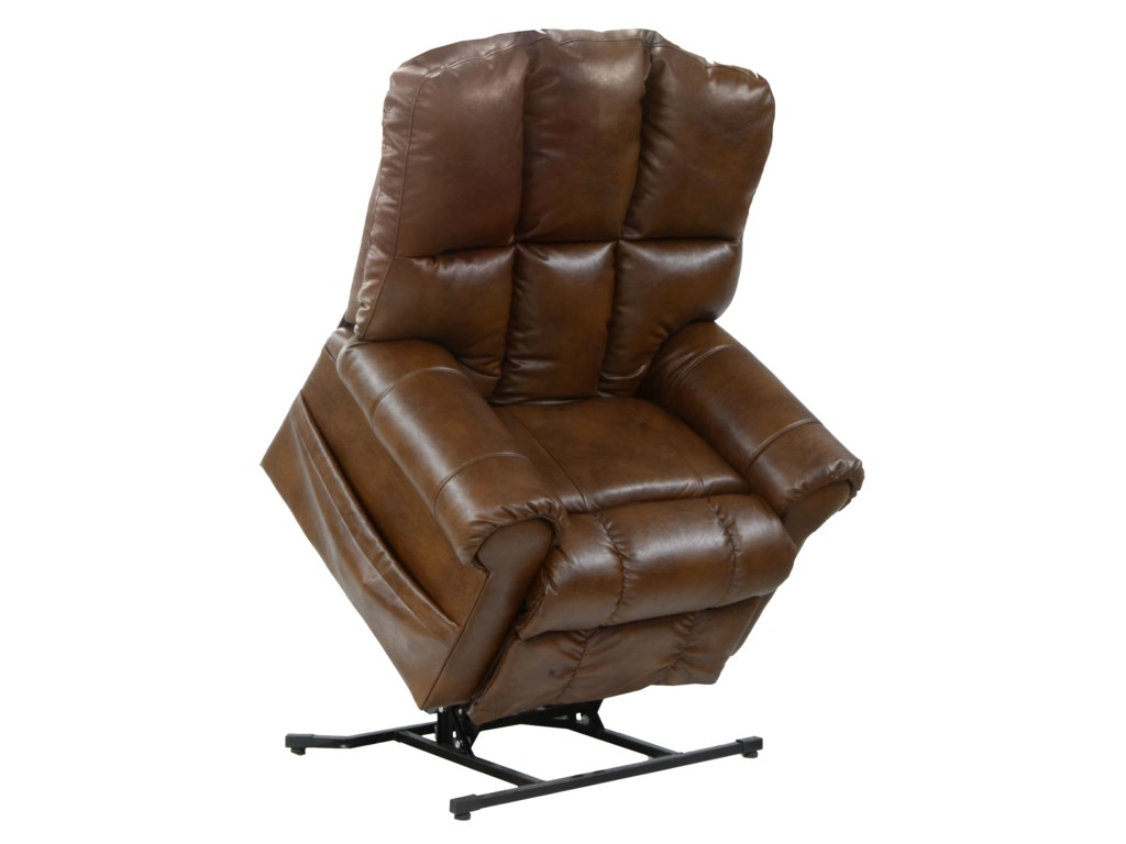 Catnapper Motion Chairs and ReclinersStallworth Power Lift Full Lay-Out Recliner