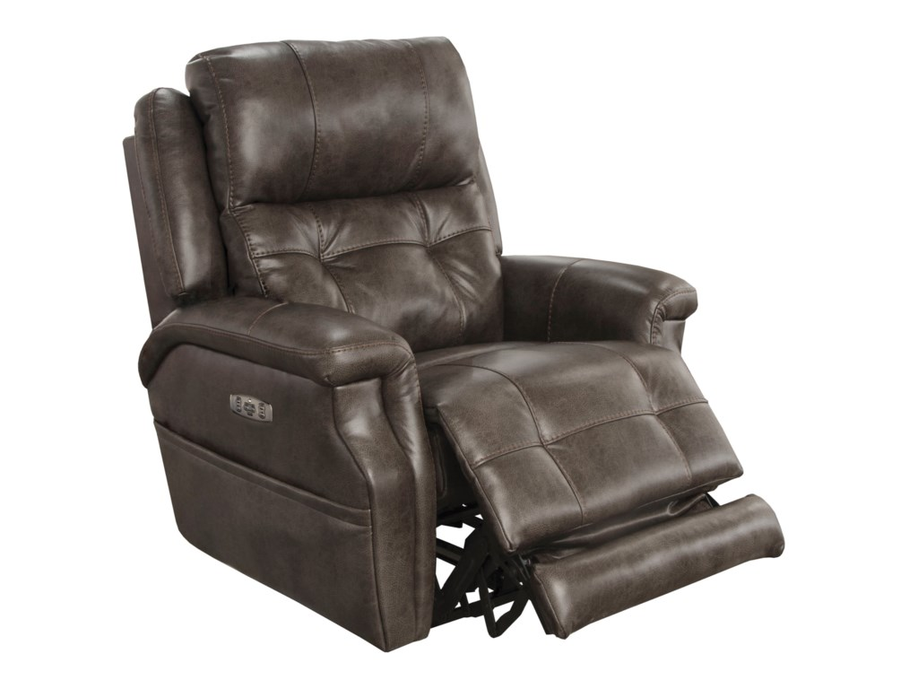 Catnapper Motion Chairs and ReclinersKepley Power Headrest Lay Flat Recliner
