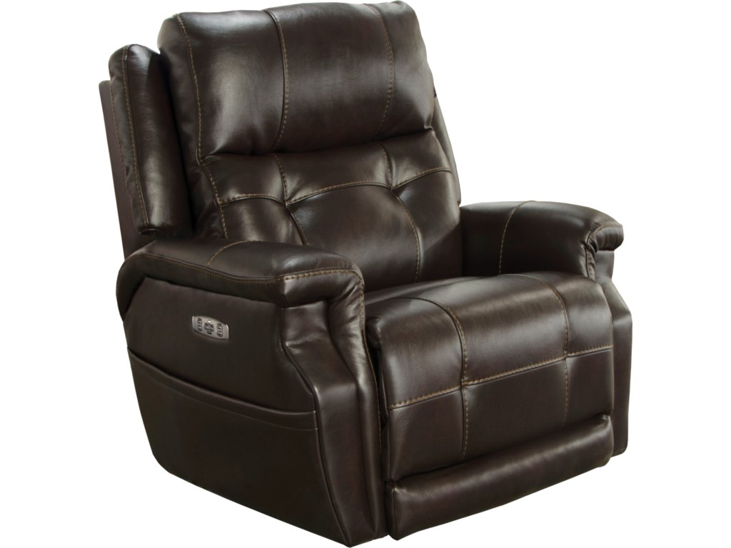 lay with option porcini chair in flat catnapper recliner chairs siesta layflat power