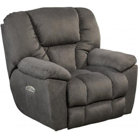 Pwr Headrest Lay Flat Recliner w/ Lumbar