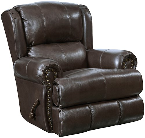 Catnapper Motion Chairs and Recliners Duncan Power Deluxe Lay Flat Recliner