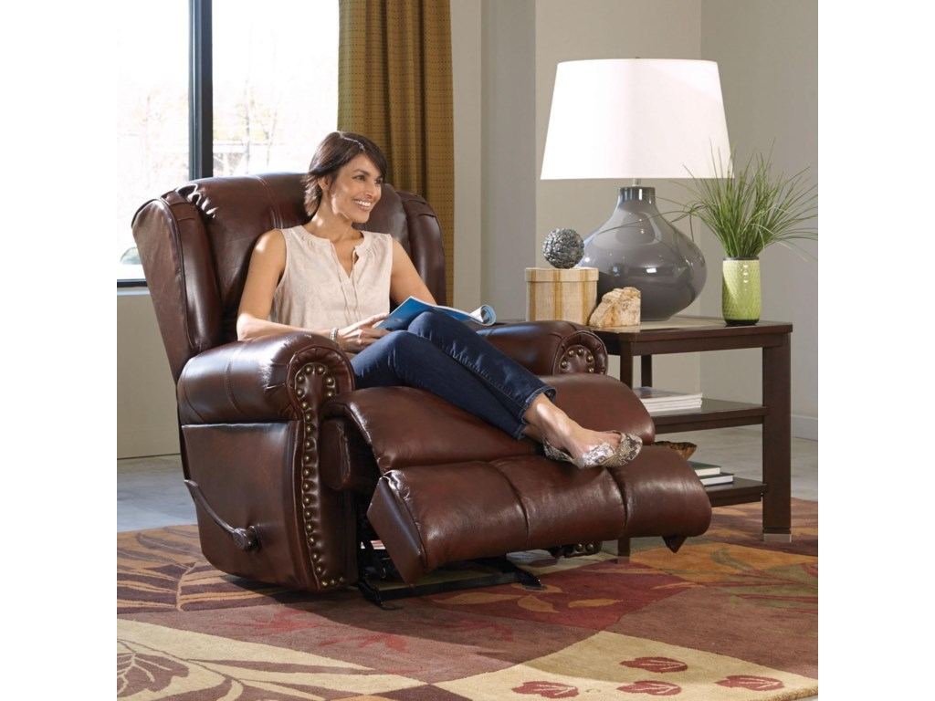 Catnapper Motion Chairs and ReclinersDuncan Power Deluxe Lay Flat Recliner