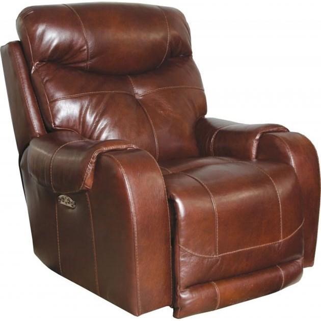 Catnapper Motion Chairs And ReclinersVenice Power Headrest Lay Flat Recliner