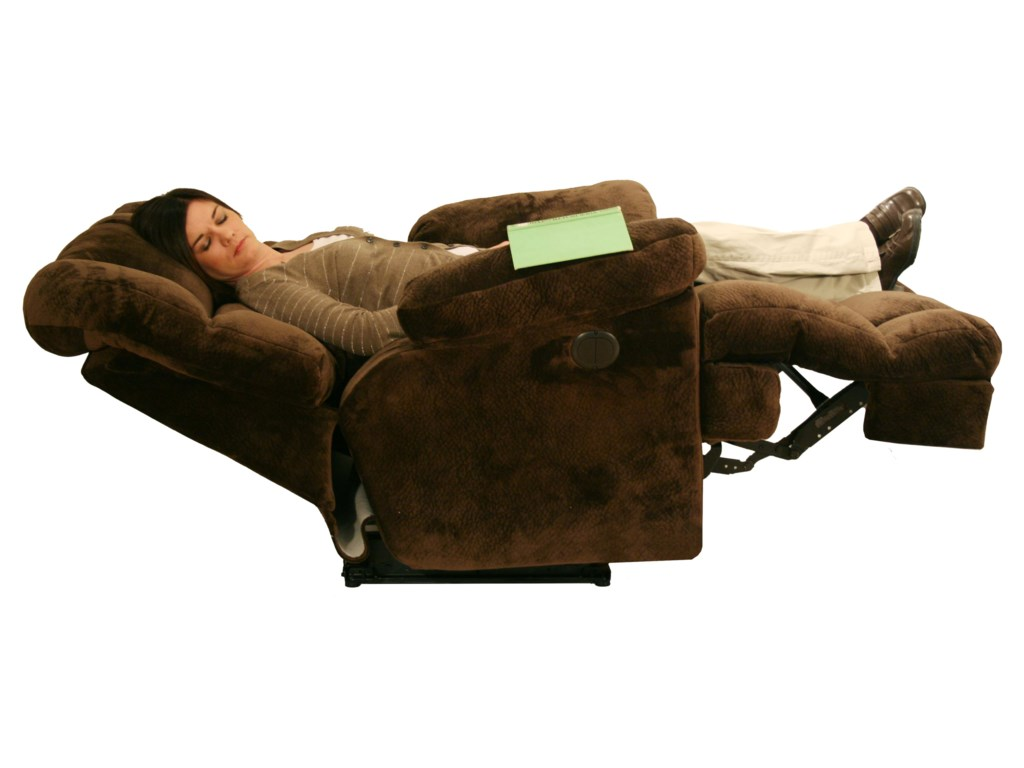 Catnapper Cloud 12 Power Chaise Recliner with Lay Flat
