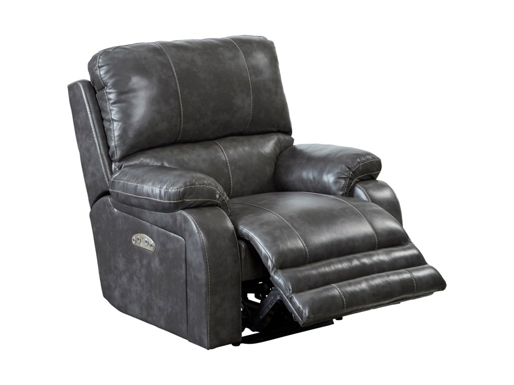 Catnapper Motion Chairs and ReclinersThornton Pwr Lay Flat Recliner w/ Pwr Head