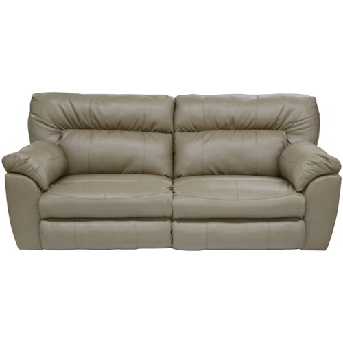 Catnapper Nolan Power Extra Wide Reclining Sofa with Casual Contemporary Style