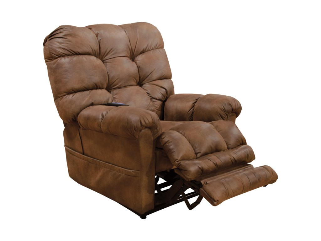 catnapper oliver casual power lift recliner with extended ottoman