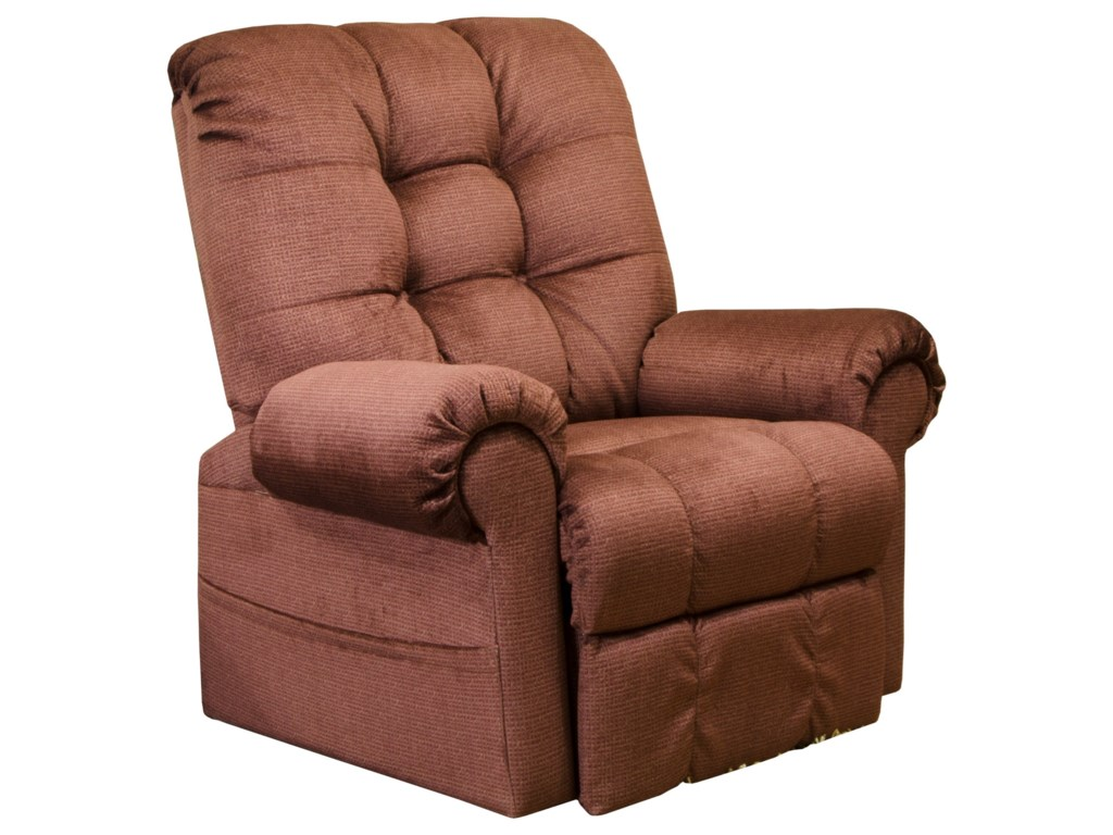 Catnapper 4827Pow'r Lift Full Layout Chaise Recliner