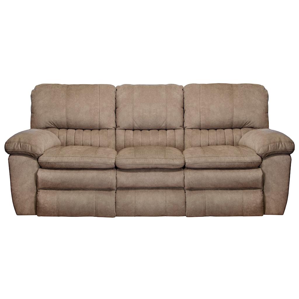 Catnapper Reyes Power Lay Flat Reclining Sofa Turk Furniture