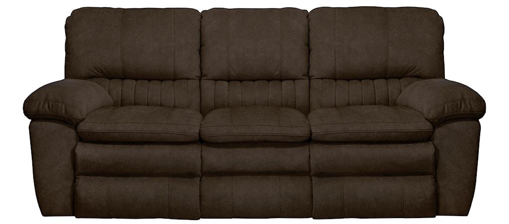 Catnapper Reyes Power Lay Flat Reclining Sofa Virginia Furniture