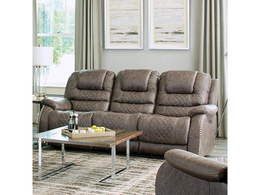Catnapper RomellePower Lay Flat Reclining Sofa