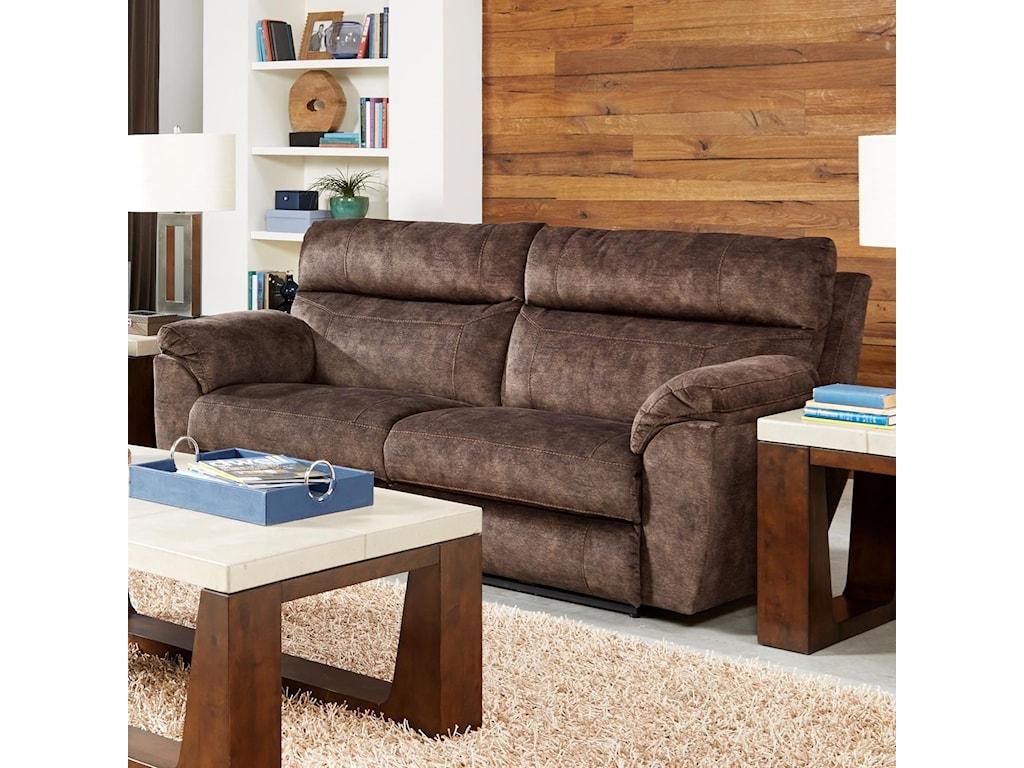Catnapper SedonaPower Headrest Lay Flat Reclining Sofa