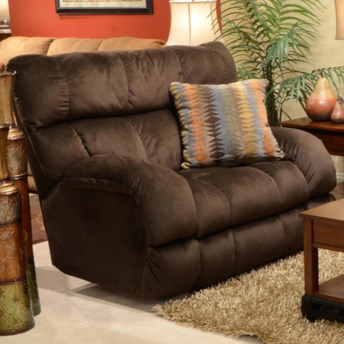 Beautiful Catnapper BRYCE Power Lay Flat Recliner with Wide Seat Top Design - Latest catnapper reclining sofa Minimalist