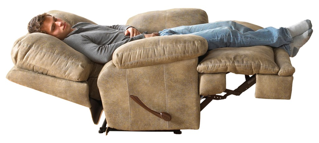 Catnapper Voyager 64380 7 Power Single Seat Lay Flat Recliner  ~ Lay Flat Reclining Sofa