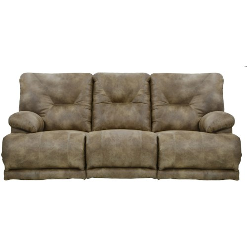 Catnapper Voyager Power Seat Lay Flat Reclining Sofa