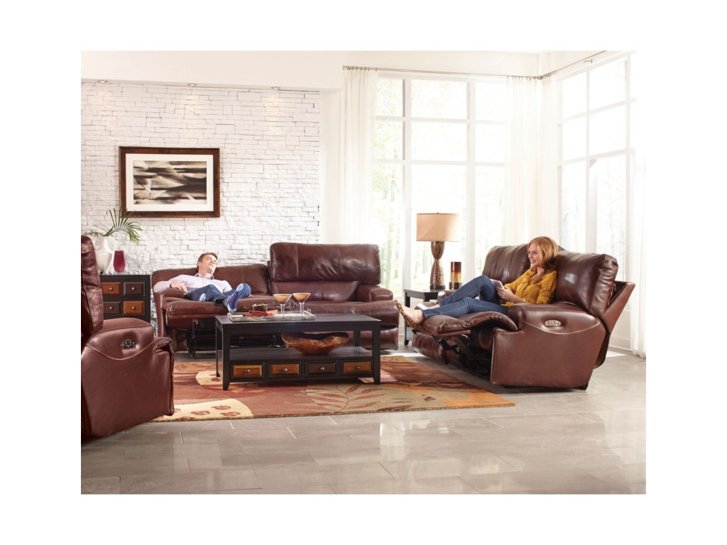 Catnapper WembleyReclining Living Room Group