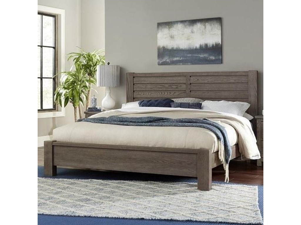 Centennial Solids HighlandsQueen Low Profile Bed