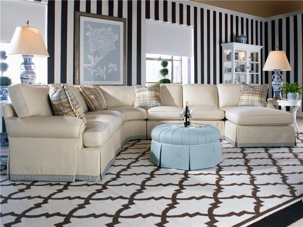 Century 2000 Eight Step CustomCustomizable Sectional Sofa