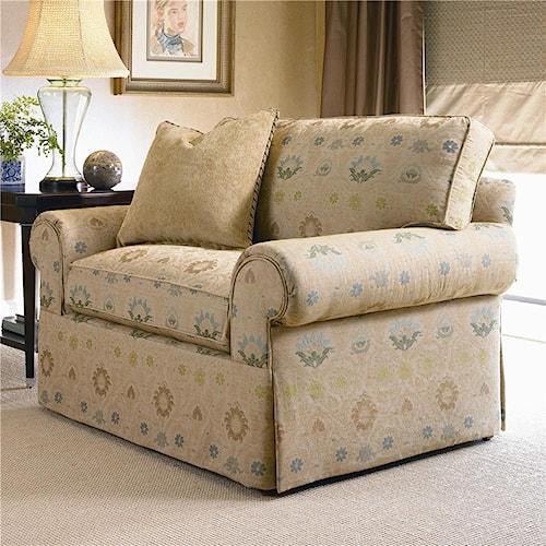 Century 2000 Eight Step Custom Customizable Chair And A Half