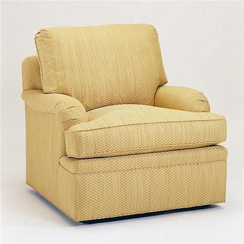 Century 2000 Eight Step Custom Customizable Upholstered Chair