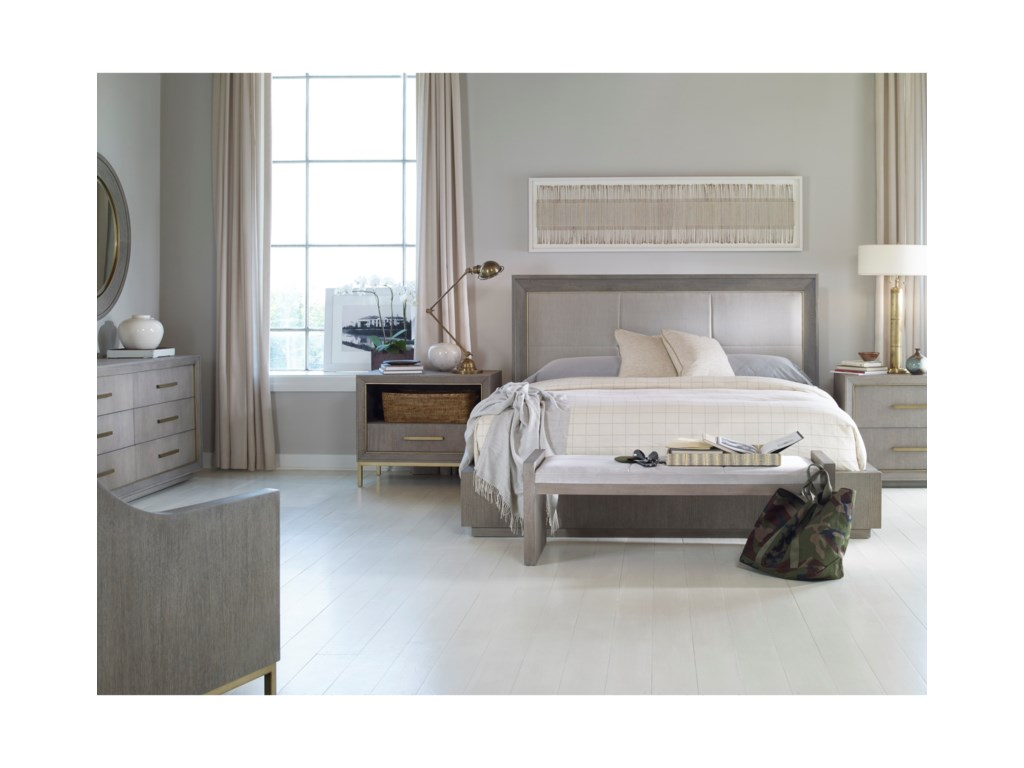 Century Archive Home and MonarchQueen Bedroom Group