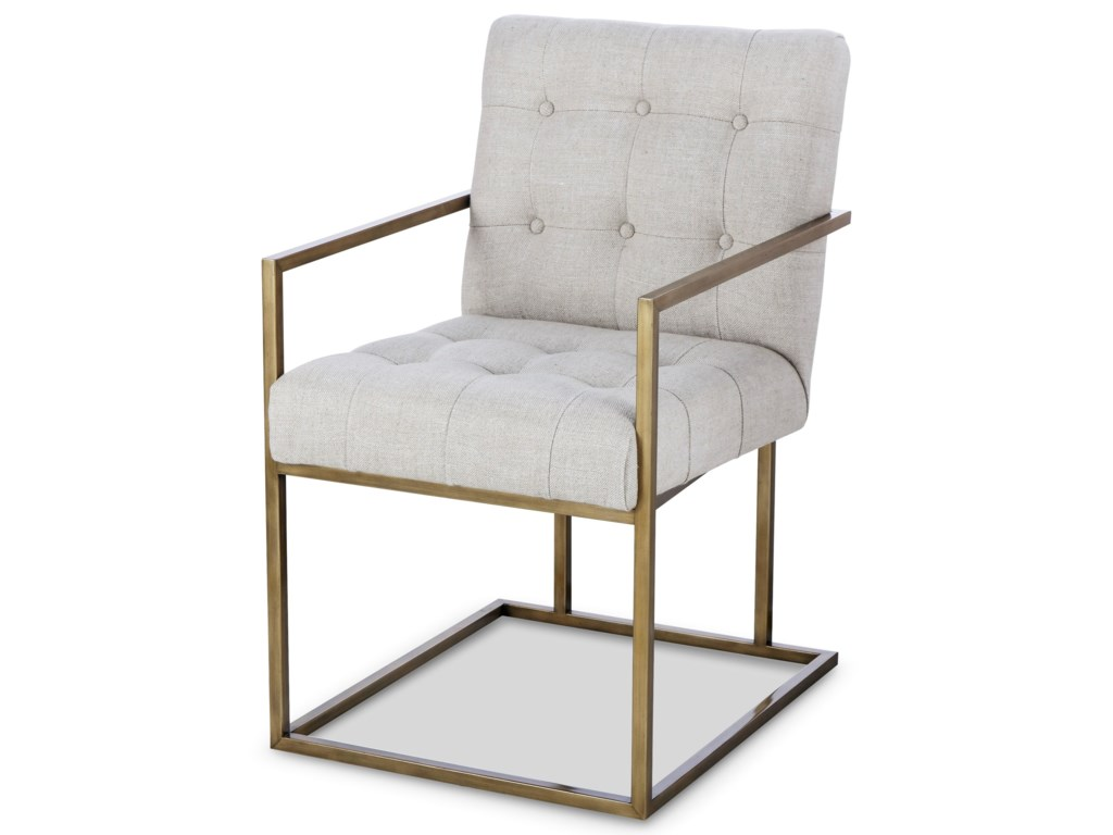 Century Archive Home and MonarchKendall Metal Arm Chair