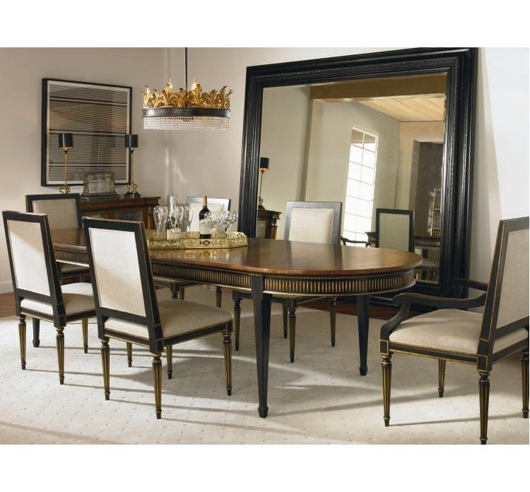 Century Barrington Table And Chair Set With 2 Arm Chairs 3 Side