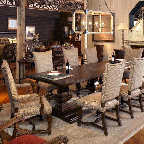 Shown with Dining Table & Side Chairs