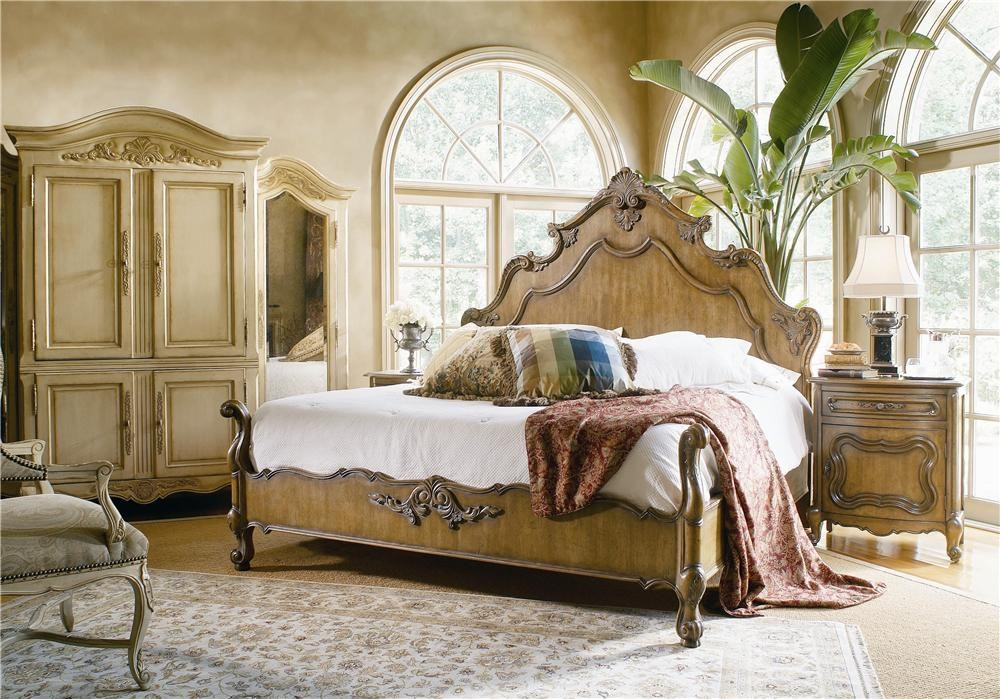 Century Bordeaux Headboard and Footboard Bed