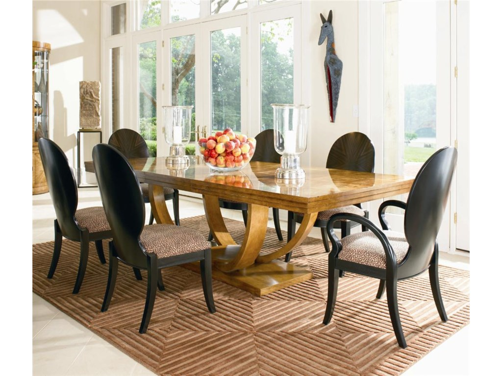 Century OmniDining Table, Arm Chair and Side Chair Set