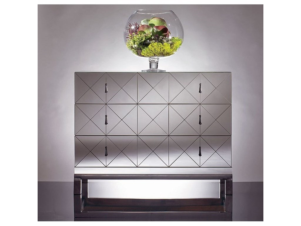 Century OmniMirrored Drawer Chest