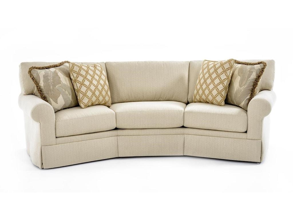 Century Cornerstone B Customizable Conversation Sofa
