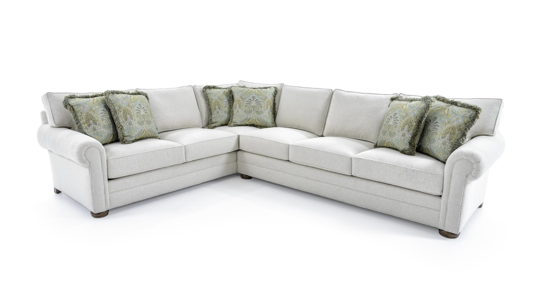 Century Cornerstone Customizable Sectional Sofa With Lawson Arms ...