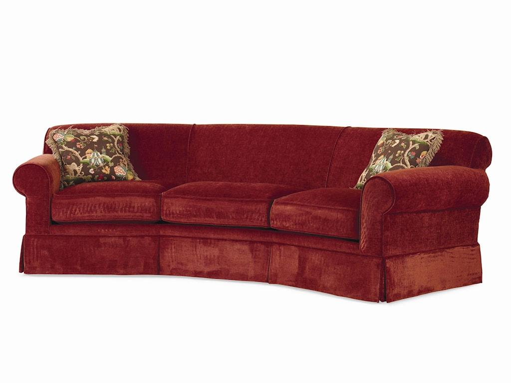 Century Cornerstone b Customizable b Conversation Sofa Kick