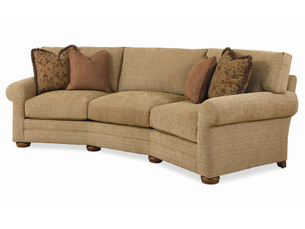 Century Cornerstone B Customizable Conversation Sofa