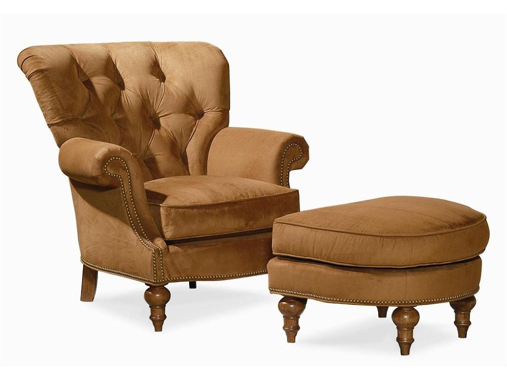 Century Elegance Upholstered Chair