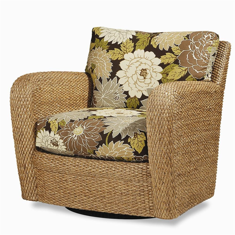 Delicieux Century Elegance Water Hyacinth Swivel Chair