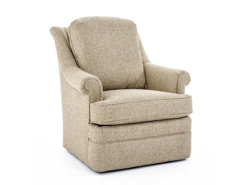 century elegance ltd7122 8 tyler loose cushion swivel chair baer s