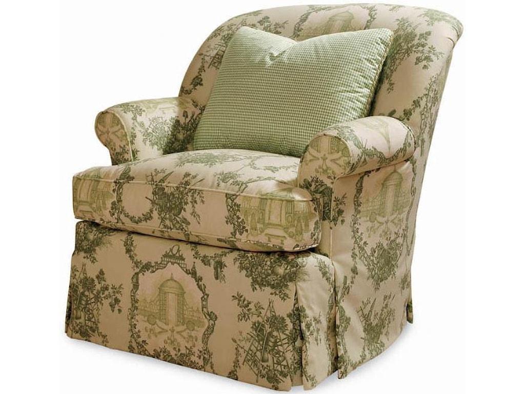 Century Elegance Rebecca Swivel Chair