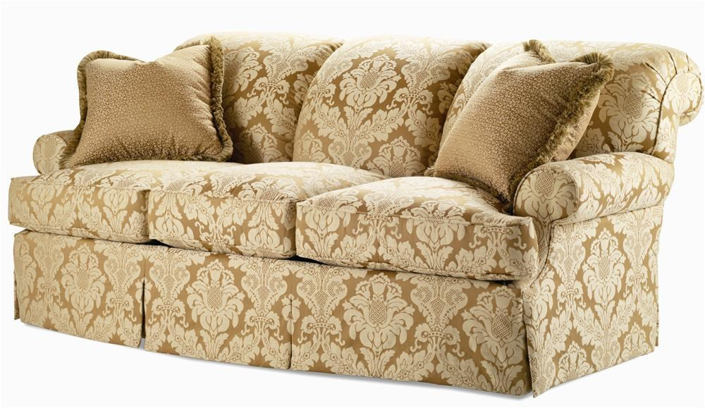 Century Elegance Sofa With Rolled Back