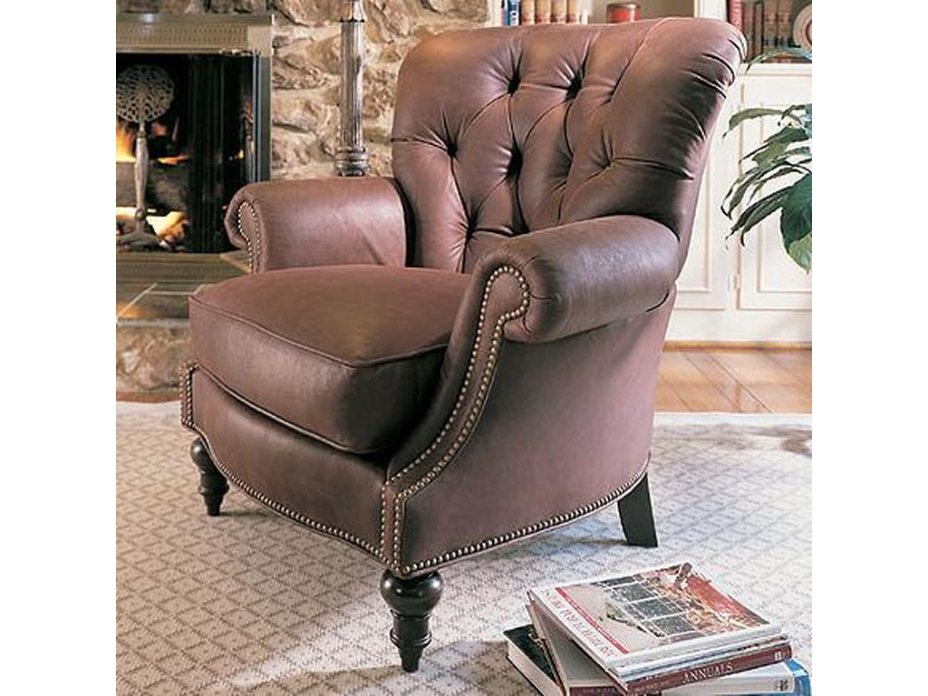 Century Leather UpholsteryOxford Chair