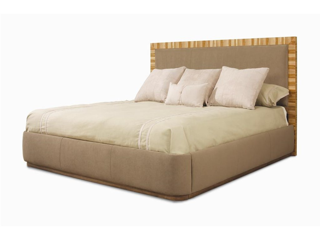 Century MilanUpholstered Panel Bed