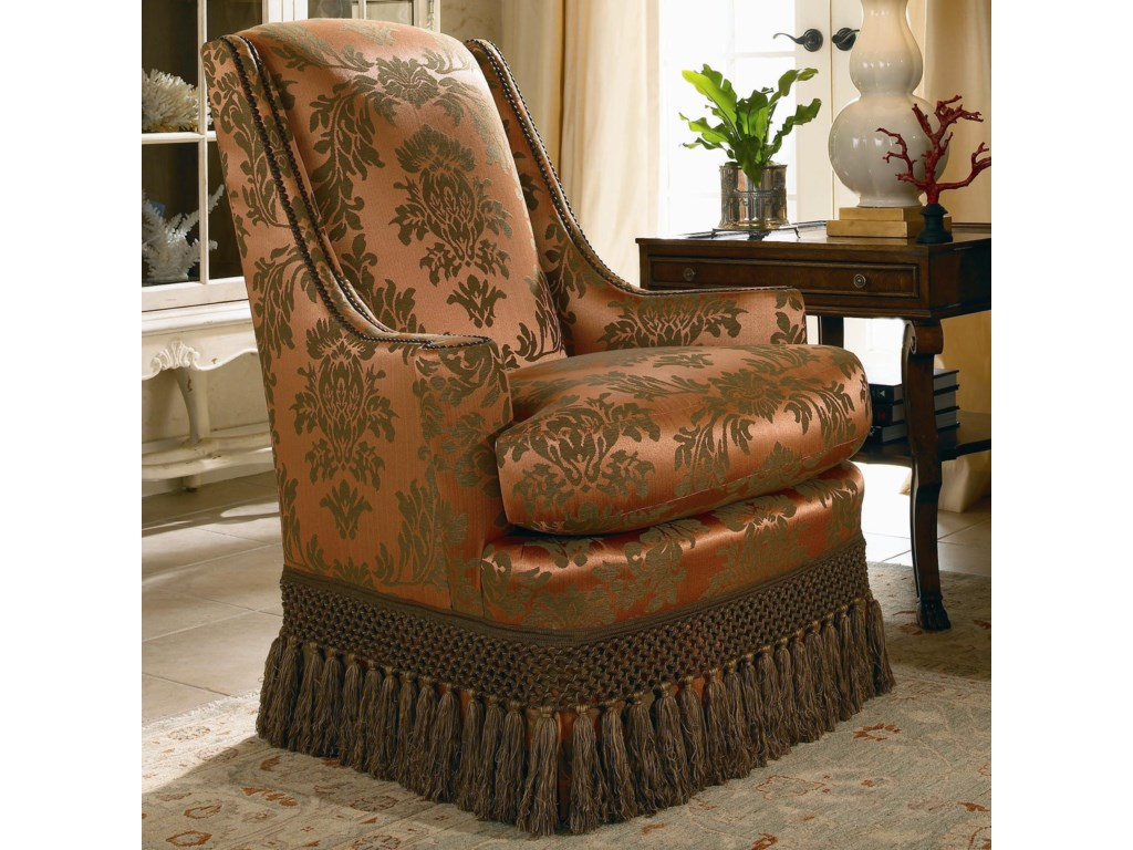 Century Signature Upholstered AccentsHigh Back Upholstered Chair